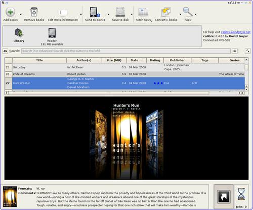 Calibre Calibre 2.48 发布 电子书管理软件