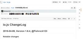 IO.js 1.6.4 发布 服务器 JS 引擎