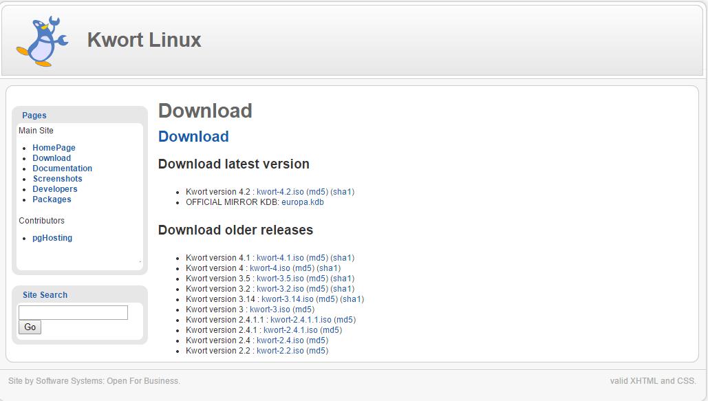Kwort Linux Kwort Linux 4.2 发布 Linux 发行