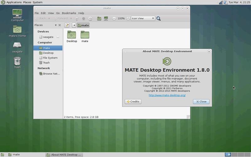 MATE MATE Desktop 1.10.0 发布 Linux 桌面