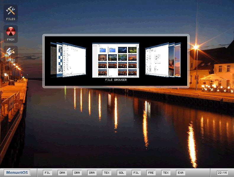 MenuetOS MenuetOS 0.99.98 发布 汇编写的操作系统