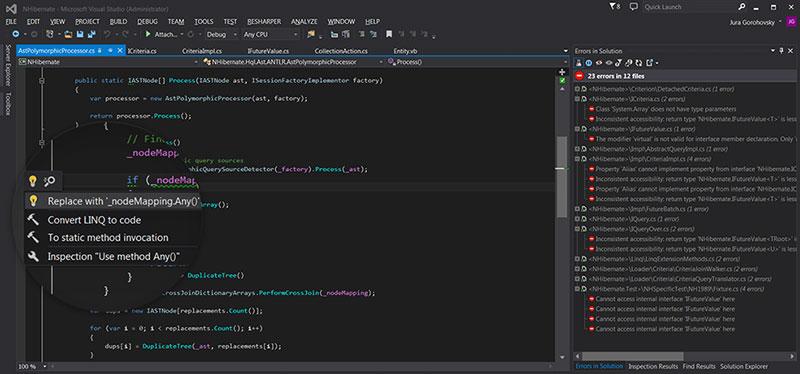 ReSharper ReSharper C++ 1.0 发布