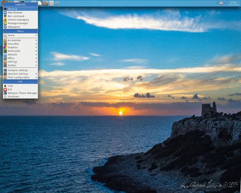 SalentOS SalentOS 14.04.2 发布 轻便的 Linux 发行