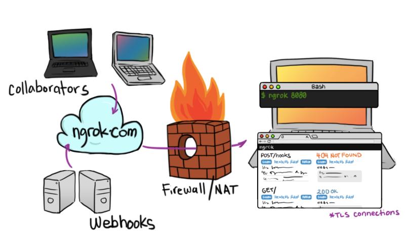 ngrok ngrok 2.0 发布 Web 服务安全通道