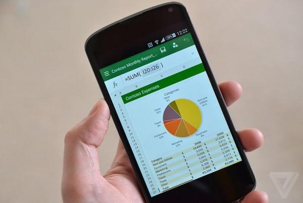 122 Android 手机迎来微软 Office 预览版