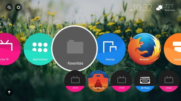 21 Mozilla 公布火狐 OS 电视版用户界面