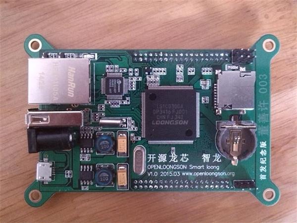 214 首款搭载龙芯1C开源主板来了 售价199元
