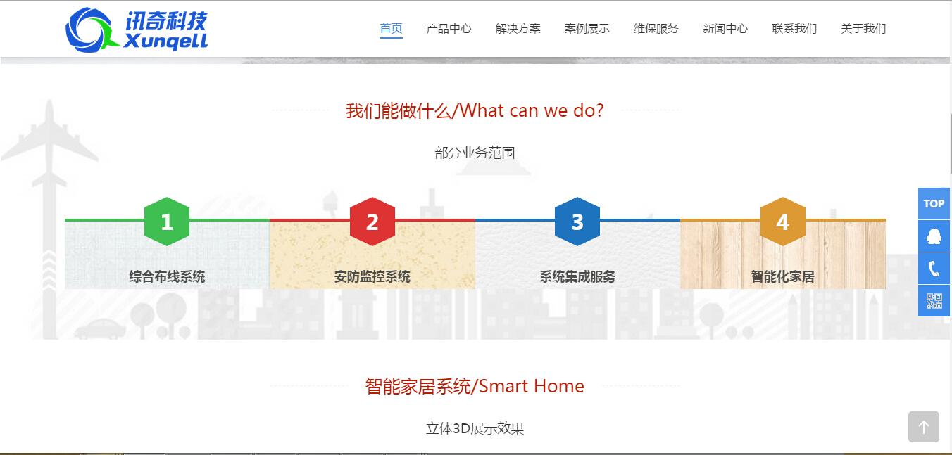 2221 江西省讯奇科技 安防智能家居