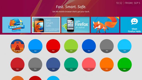 31 Mozilla 公布火狐 OS 电视版用户界面