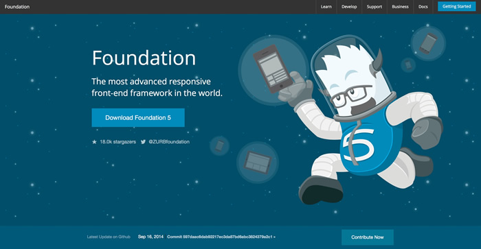 Foundation Foundation 5.5.2 发布 Web 的 UI 框架