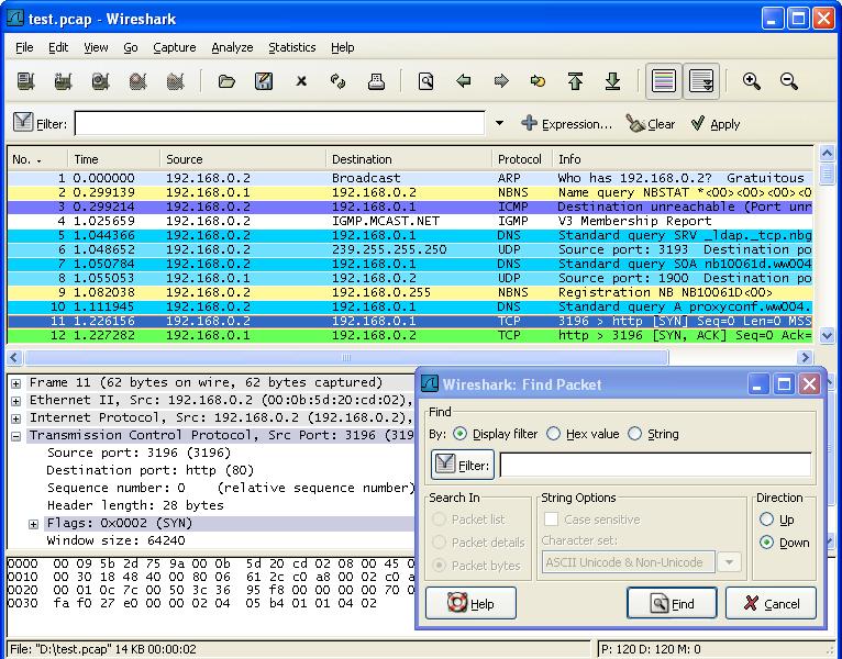 Wireshark Wireshark 1.12.5 发布 网络协议检测程序