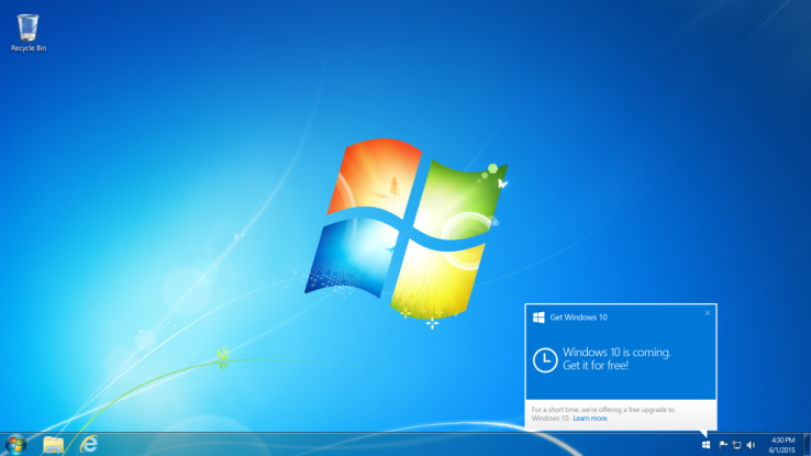 02072651 ydUf 微软确定于 7 月 29 日正式推出 Windows 10