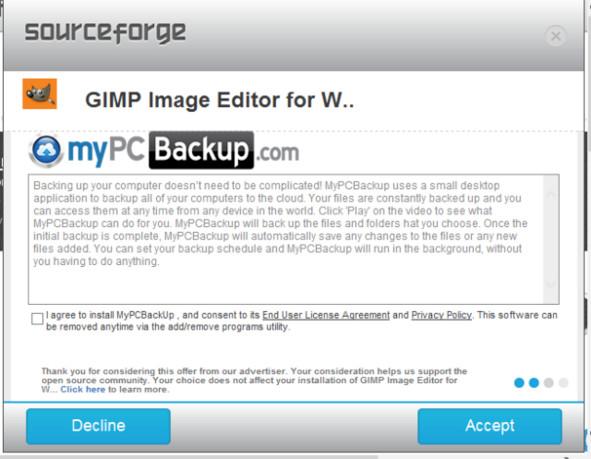 03074335 QpLf SourceForge 停止在被遗弃项目捆绑第三方软件