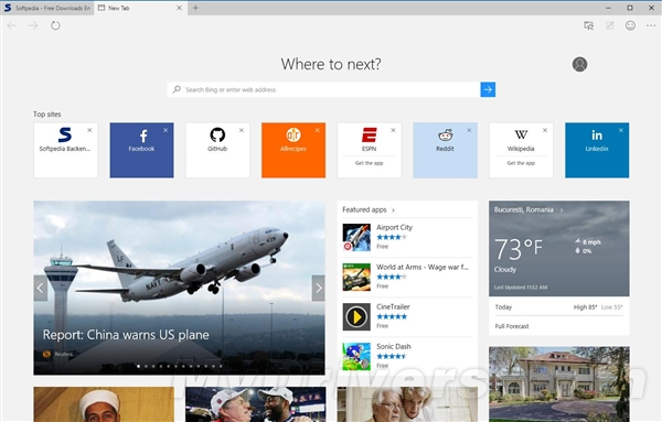 06081538 Chfi 全新时代!微软 Edge 浏览器正式登场了