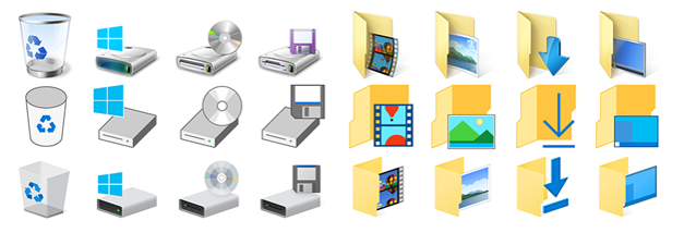 29070356 Y9Yq 从扁平到立体:Windows 10 图标的演化