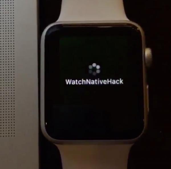 8 开发者破解 Apple Watch 运行真正 UIKit 应用