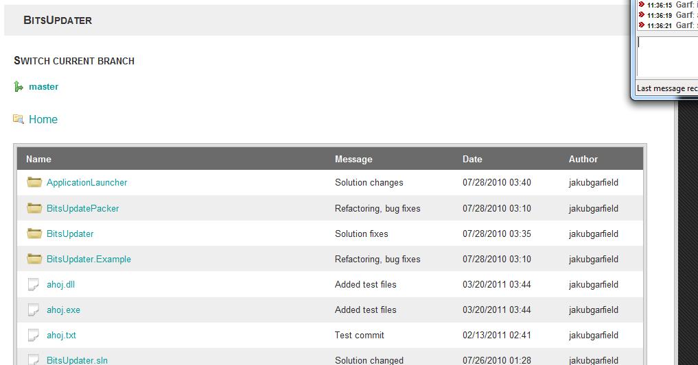 Bonobo Git Server for Windows Bonobo Git Server 4.0.0 发布