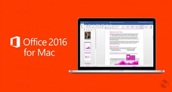 10074059 PCbL Mac 版 Office 2016 正式发布 独立版要到 9 月