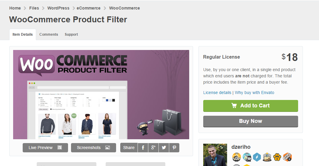 33 WooCommerce Product Filter v4.0.4 产品筛选插件