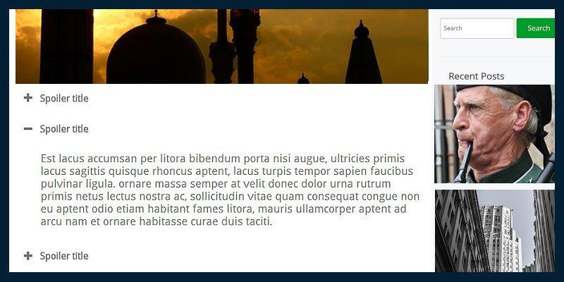 5 企业网站开发建设之10个非常棒的手风琴插件(Accordion Plugins)