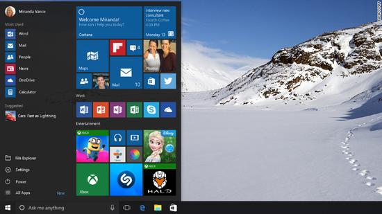 win10 微软7月29日发布Windows 10正式版