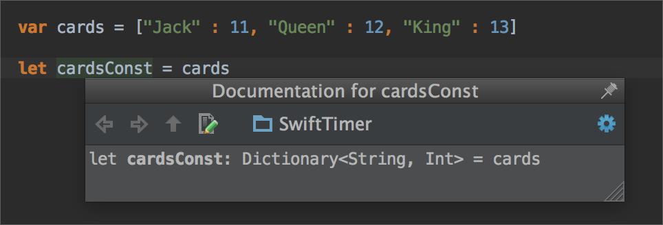 AppCode2 AppCode 3.2 EAP 更新 提供 Swift 快速文档