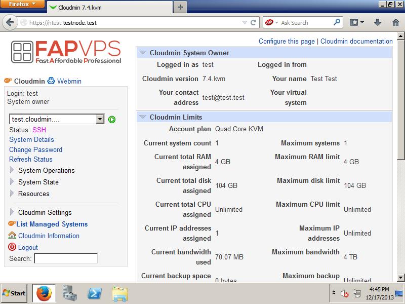Cloudmin1 Cloudmin 8.3 发布 Webmin 虚拟管理系统