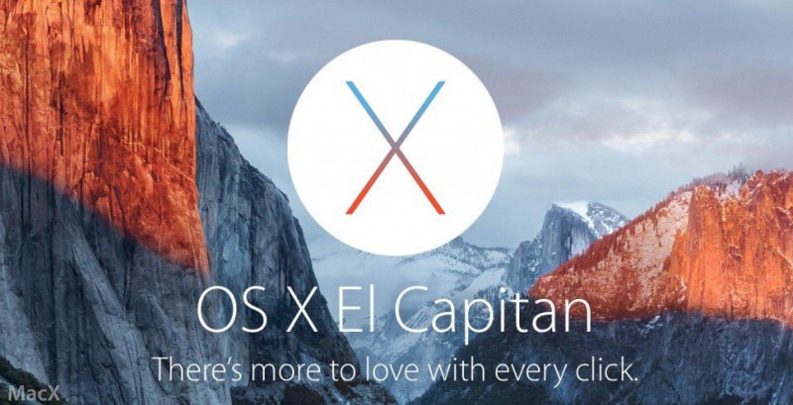 OS2 苹果发布 OS X 10.11.2 El Capitan 正式版