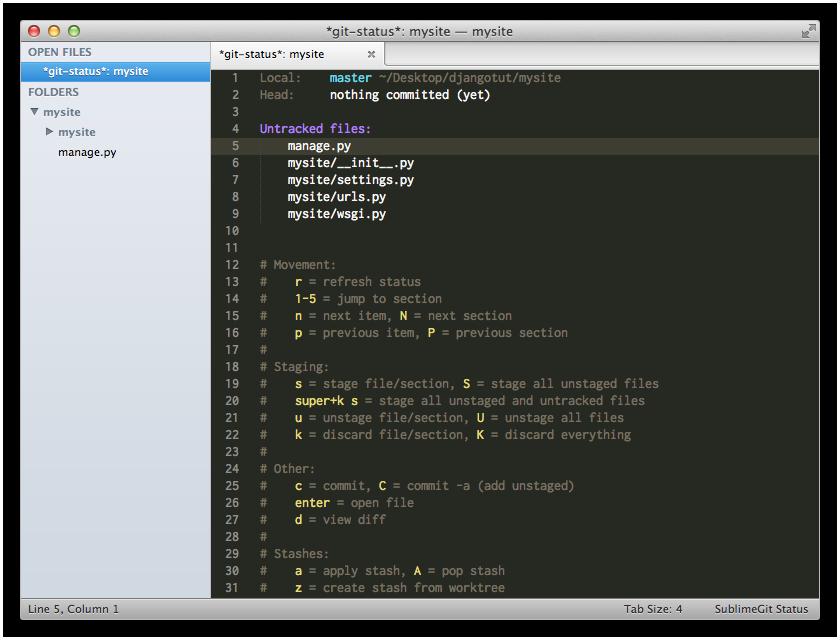 SublimeGit  SublimeGit 1.0.35 发布 准备开源