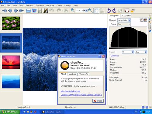 digiKam digiKam 4.12.0 发布 数字照片管理软件