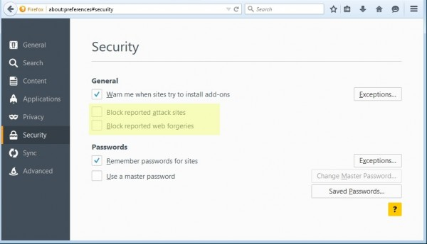 Adware Adware 被发现偷偷关闭 Firefox 安全浏览功能