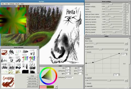 MyPaint 1.2.0 发布 开源绘图程序-芊雅企服