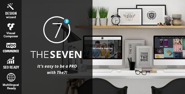 The7 Responsive Multi Purpose WordPress Theme 彻底解决wordpress The7主题访问速度慢的问题