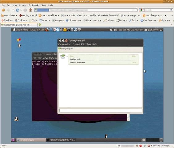 Guacamole 0.9.9 发布 Web 的 VNC 客户端-芊雅企服