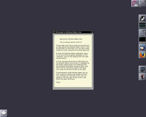 WM Live 0.95.7-0 beta 发布 基于 Debian 的 Linux-芊雅企服