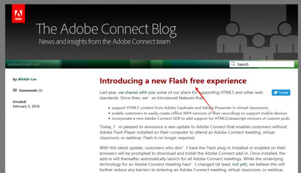 连 Adobe 都正在从自家产品中抛弃 Flash-芊雅企服