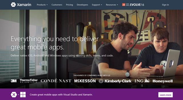 微软宣布 Xamarin 内置于 Visual Studio 免费提供-芊雅企服