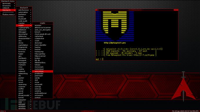 新版 BlackArch Linux 发布 提供1400款渗透测试工具-芊雅企服