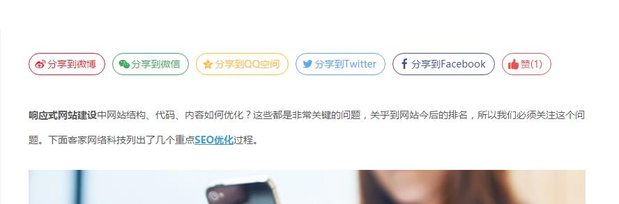 优享 wordpress国内社会化分享插件推荐-芊雅企服