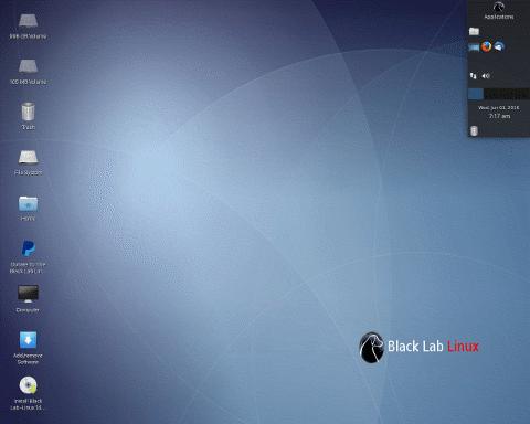 Black Lab Linux 8.0 Alpha 4 发布-芊雅企服
