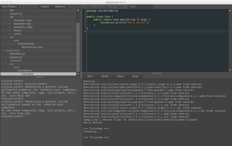 Nightcode 2.0.0 发布 Clojure 的 IDE-芊雅企服