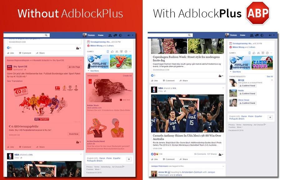 Facebook 的反广告屏蔽被 Adblock Plus 屏蔽了-芊雅企服
