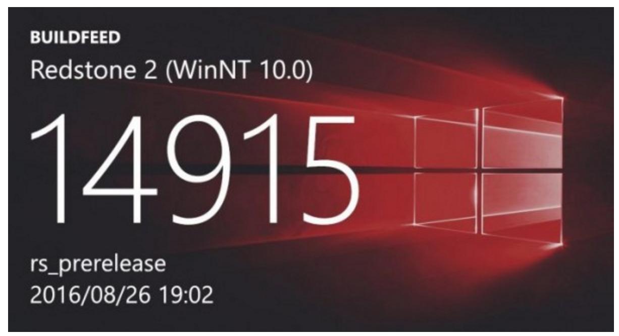 "Windows 10 ""红石2"" 预览版 Build 14915 曝光-芊雅企服"