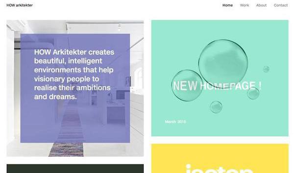 网站设计2016年新趋势:卡片主导设计-芊雅企服