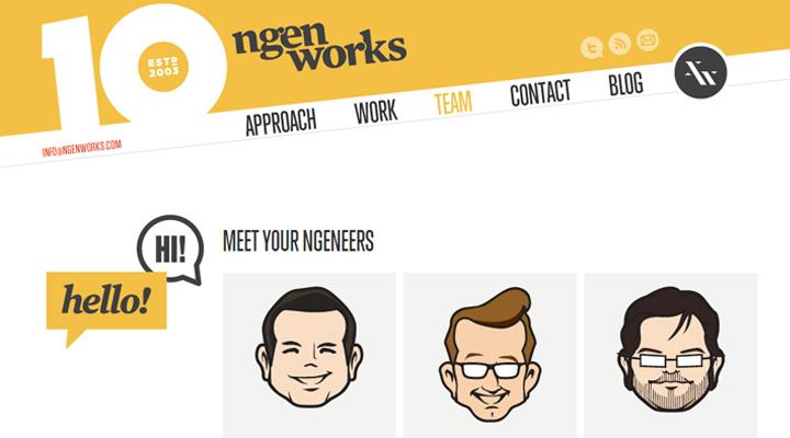 响应式网站建设之设计关于我们页面的9个小技巧-芊雅企服