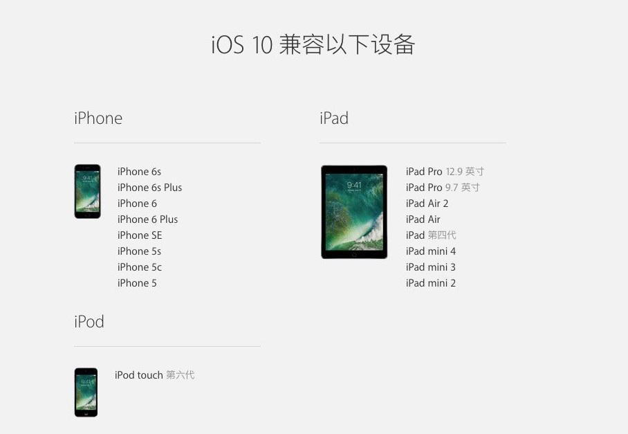iOS 10 正式版发布-芊雅企服