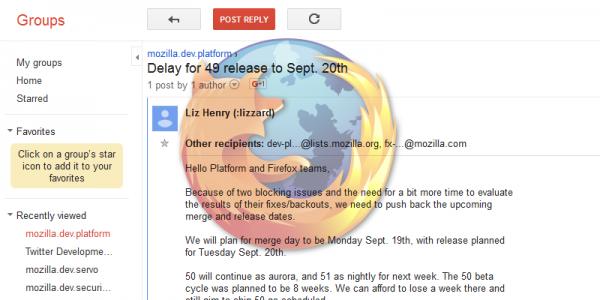因新漏洞问题 Firefox 49 发布时间将延期一周-芊雅企服