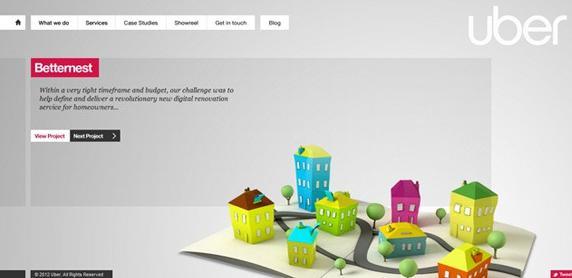 分享几个独具创意的外贸网站设计-芊雅企服