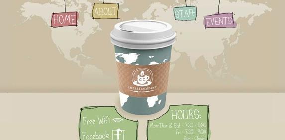 国外知名品牌咖啡网站设计案例-芊雅企服