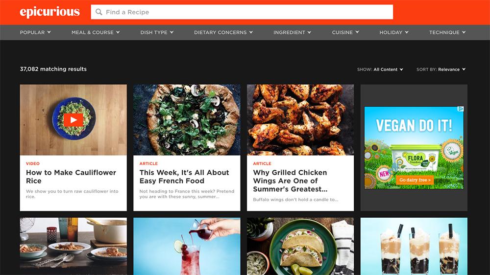 响应式网站建设中的餐厅食品类网站设计分享-芊雅企服